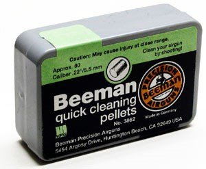 Cheap Beeman quick cleaning pellets. 22 cal, 80ct over $150
