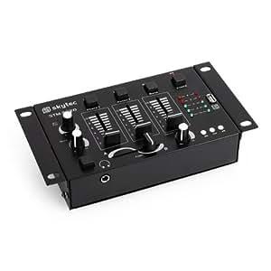 Mesa de mezclas Skytec STM-3020 3/2 canales USB MP3 MIC
