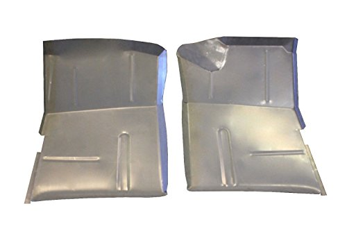 Motor City Sheet Metal - Works With 1973 1987 Chevy Truck GMC Jimmy Suburban Blazer Extended Front Floor Pan PAIR