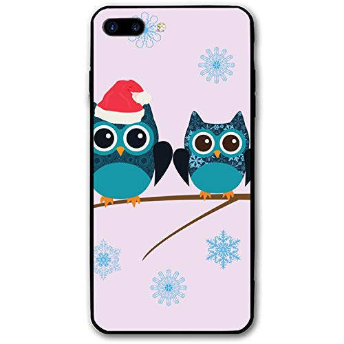 iPhone 7/8 Plus Case Ultra-Thin Shockproof Rubber Cover Compatible for iPhone 7/8 Plus Owl Snow Family