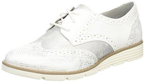 23623 110 Mujer Vestir Zapatos Comb s Oliver Blanco para White de 5qWTxvxR