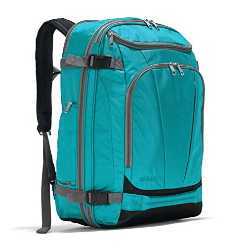 eBags TLS Mother Lode Weekender Convertible Carry-On Travel Backpack - Fits 19 Inch Laptop - (Tropical Turquoise)
