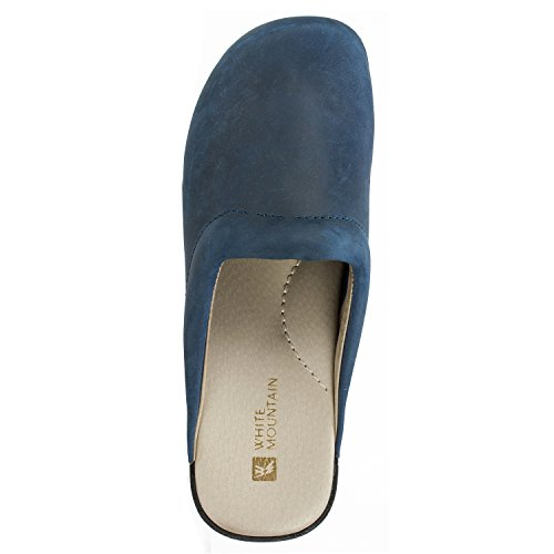 Navy HANA Shoes WHITE Mule MOUNTAIN Women's FwxXnqUW6Z