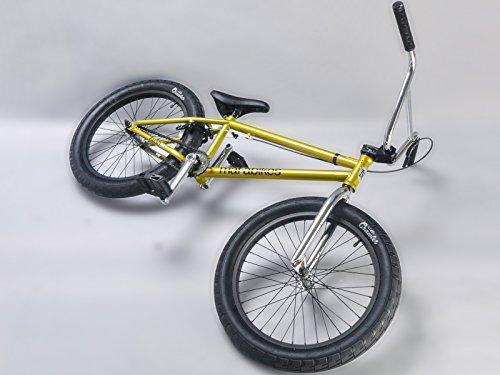 Mafiabikes Kush 2+ 20 inch BMX Bike GOLD