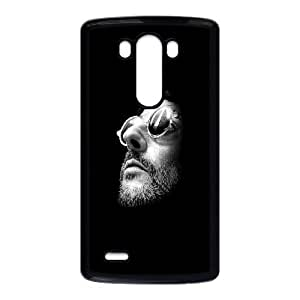 Cute TPU Case Leon LG G3 Cell Phone Case Black