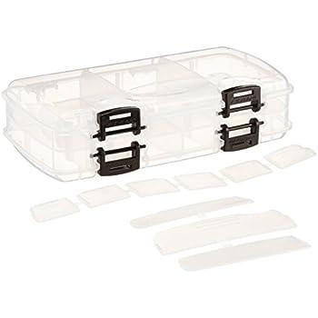 Clear Spiderwire Tackle Box Medium Utility Box