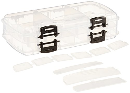 - Plano 3450-23 Double-Sided Tackle Box, Premium Tackle Storage