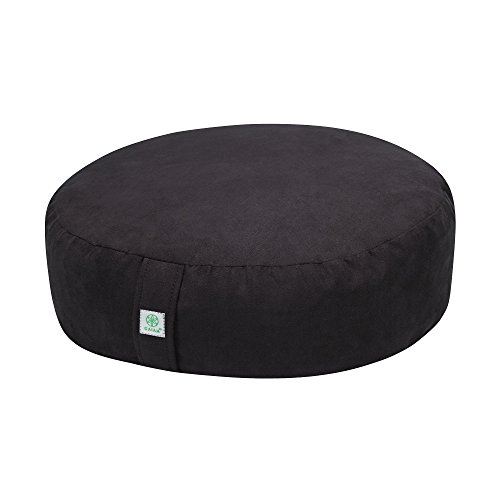 Gaiam Zafu Meditation Cushion Black