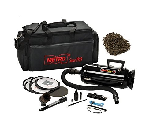 Vacuum/Blower with HEPA Filter, Datavac/3 ESD Anti-static 1.7 HP (Complete Set) w/ Bonus: Premium Microfiber Cleaner Bundle (Anti Static Vacuum)