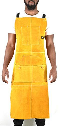 leather apron split - 8
