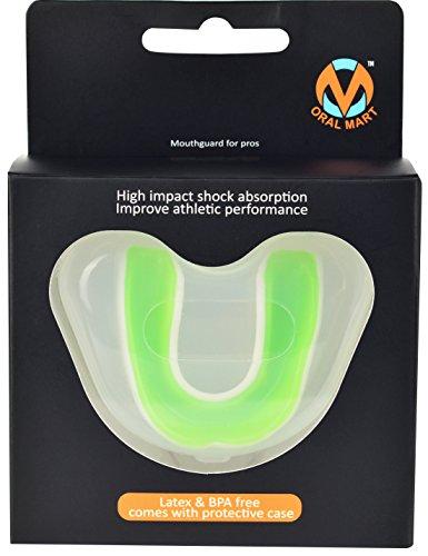 vert Ventilé Blanc avec Pour Mart Jeunes Sport dents Protège Étui adultes Oral WP1wzqOvv