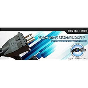 SolisTek 15' Digital Lamp Extension