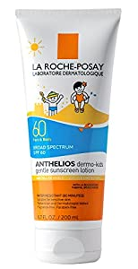 La Roche-Posay Anthelios Dermo SPF 60 Kids Sunscreen with Antioxidants and Vitamin E, 10.1 fl. oz.