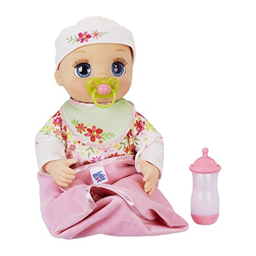 - Baby Alive Real As Can Be Baby: Realistic Blonde Baby Doll, 80+ Lifelike Expressions, Movements & Real Baby Sounds, With Doll Accessories, Toy for Girls and Boys 3 and Up