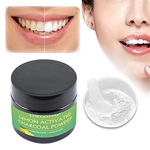 Carbone Attivo Polvere,Sbiancante per Denti,Sbiancamento Dei Denti,Carbone Attivo Sbiancamento Denti – Pulizia Profonda…