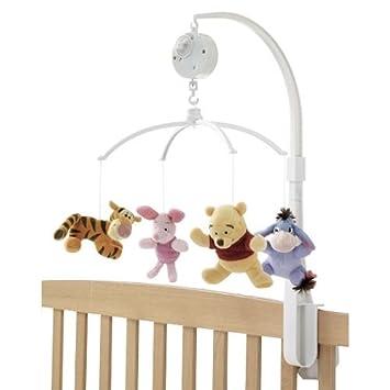 Amazon.com : Disney Baby Winnie the Pooh Crib Musical Mobile Tigger ...