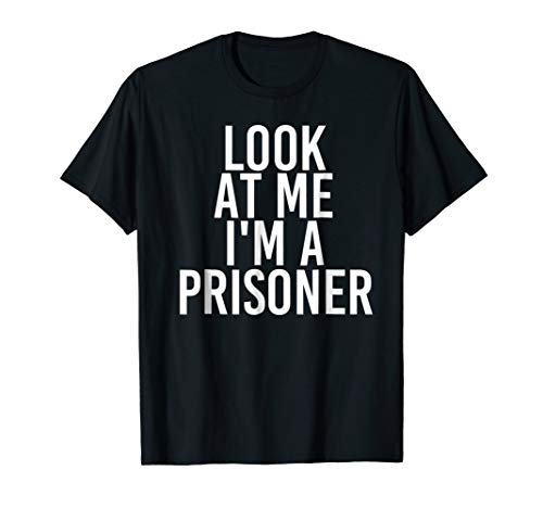 Prisoner Costume Group Easy Outfit Shirt for Halloween