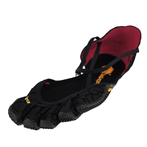 Vibram Women's Vi-S-W Fitness/Yoga Shoe, Black, 37 EU/6.5 M US
