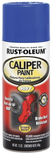 Rust-Oleum Automotive 251593 12-Ounce Caliper Paint Spray, Blue