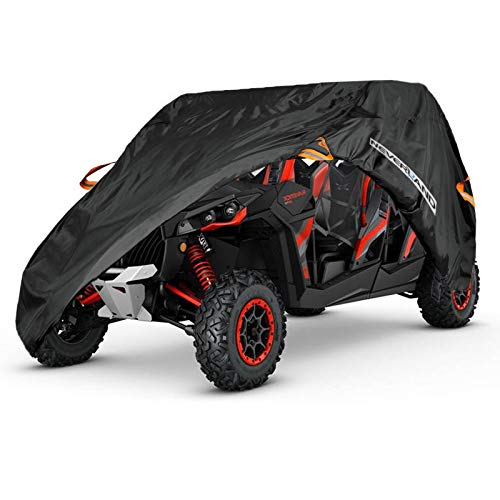 NEVERLAND UTV Cover,Waterproof Oxford Material for Polaris RZR XP 4 General 4 Ranger crew Can-Am Defender max 4-6 ()