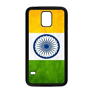 india flag Samsung Galaxy S5 Cell Phone Case Black gift pjz003-3877447
