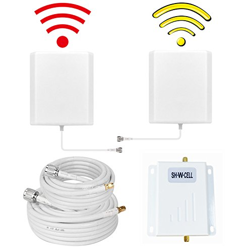 (Verizon Cell Phone Signal Booster 4G LTE 700Mhz Band13 Cell Phone Booster Verizon Mobile Phone Signal Booster Cell Phone Signal Amplifier Repeater with The Indoor/Outdoor Dual Panel Antennas for Home)