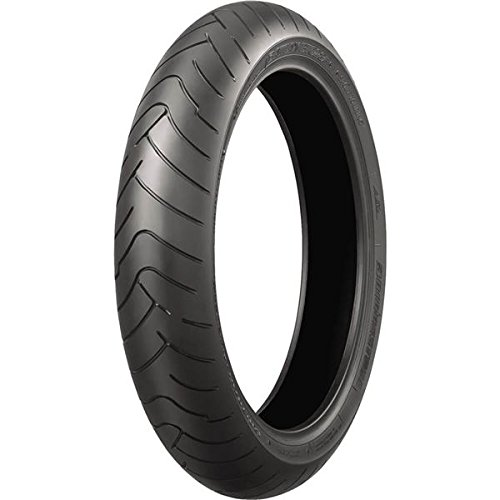 (Bridgestone Battlax BT-023F Sport Touring Radial Tire - Front - 120/ 70ZR-17 , Position: Front, Rim Size: 17, Tire Application: Touring, Tire Size: 120/70-17, Tire Type: Street, Load Rating: 58, Speed Rating: (W), Tire Construction: Radial 001279)