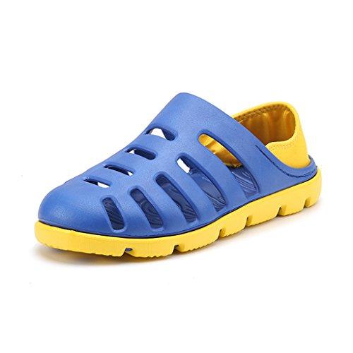 Hishoes - Zapatillas de estar por casa para hombre Azul