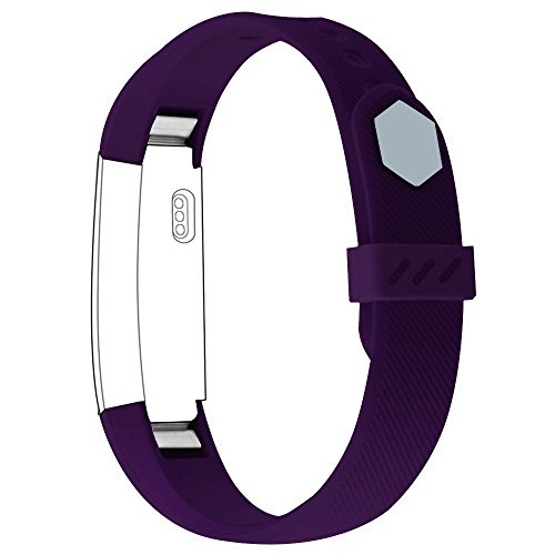 Fitbit Alta Bands,OROBAY Classic Accessory Bands Replacement Soft Wristband Strap with Secure Silicone Fasteners Metal Clasp For Fitbit Alta Fitness - Of Serial All Colours Name
