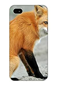 Creatingyourself Case Cover For Iphone 4/4s - Retailer Packaging Red Fox Protective Case