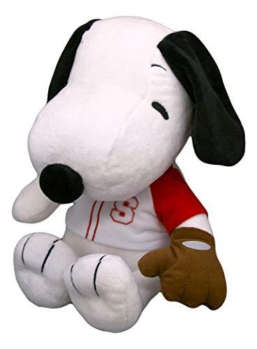 Peanuts Snoopy in Baseball Uniform & Glove Cute Plush Gift Stuffed Animals -