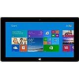 Microsoft Surface Pro 2 (128GB, Haswell i5 Processor, 10.6 Full HD Display, Windows 10 Pro, Dark Titanium) (Certified Refurbished)
