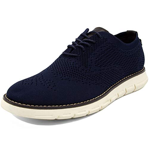 Nautica Men's Wingdeck Oxford Shoe Fashion Sneaker-Navy Knit-9