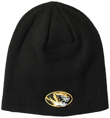 (ZHATS NCAA Missouri Tigers Edge Knit Beanie, Adjustable, Team Color)
