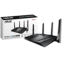 Asus Modem Router Combo - All-in-one DOCSIS 3.0 32x8 Cable Modem + Dual-Band Wireless AC2600 WIFI Gigabit Router – Certified by Comcast Xfinity, Spectrum, Time Warner Cable, Charter, and Cox (CM-32)