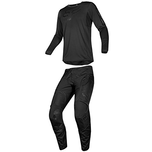Fox Racing 2019 180 SABBATH Jersey and Pants Combo Offroad Gear Adult Mens Black Large Jersey/Pants 32W ()