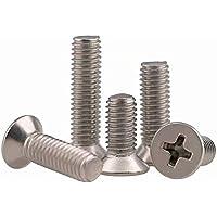 50 stks M2 x 18 mm Phillips platte kop machine schroef roestvrij staal ABBOTT