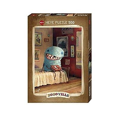 Heye Vd 29701 Puzzle Dente Di Latte Zozoville 500 Pezzi