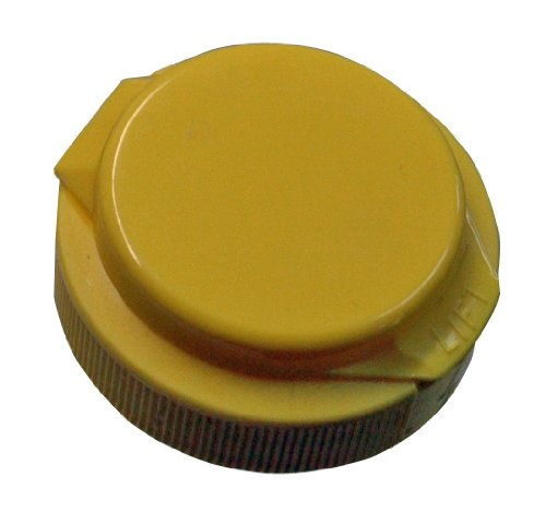 Mann Lake CN160 250-Pack Squeeze Container Flip Top Caps, Yellow