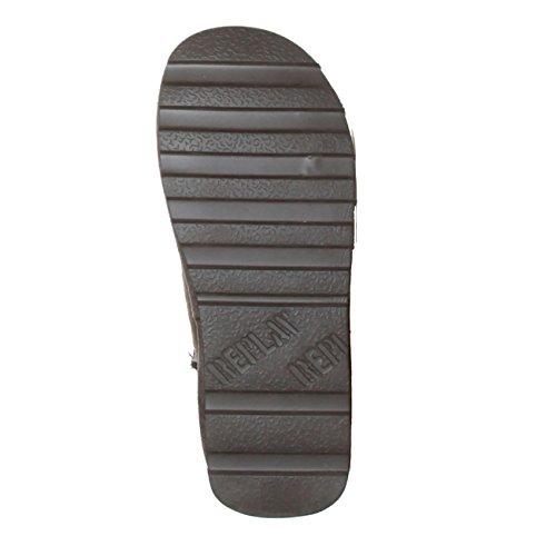 REPLAY RF010018S Damen Winter Yeti Boots Stiefeletten Stiefel Schuhe EU 36 - 41, UK 3-7, Taupe