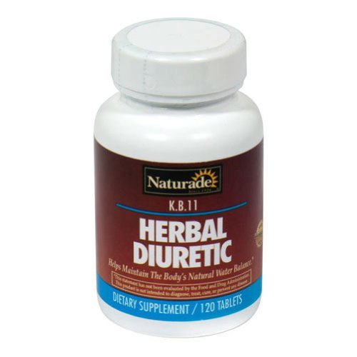 KB 11 Herbal Diuretic Naturade Products 120 Tabs by Naturade