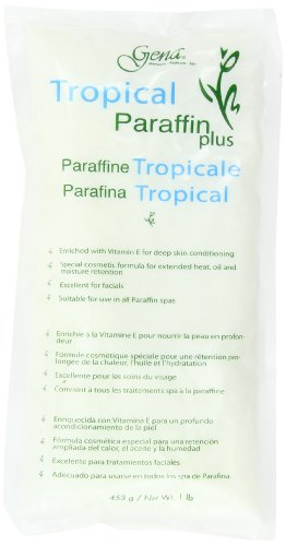 Gena Paraffin Wax (Gena Tropical Paraffin Wax (Pack of 2))
