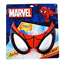 Party Costumes - Sun-Staches - Spiderman Mask Toys Sunglasses SG2317
