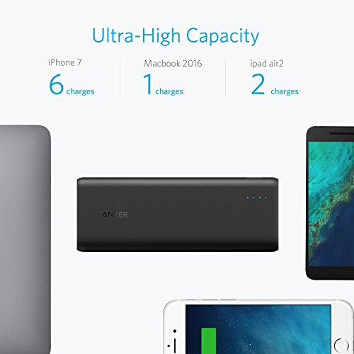 strength distribution Anker PowerCore acceleration 20000 PD 20100mAh strength Bank 30W strength distribution Wall Charger Bundle for Nintendo Switch iPhone 8 X and USB Type C Macbooks External Battery Packs