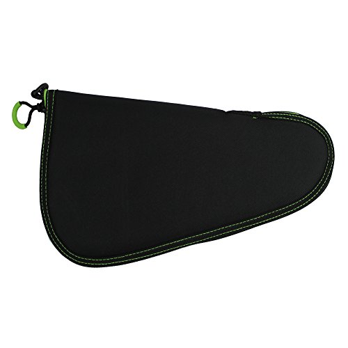 KyleBooker 13'' Pistol Case Accessories Storage Gun Bag With Carry Case Zipper Pistol Rug without (Pistol Rug Gun Case)