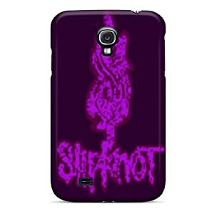 Ultra Slim Fit Hard Wondercase Case Cover Specially Made For Galaxy S4- Slipknot Logo Pink