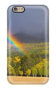 New Style 3507837K60407601 Shock-dirt Proof Rainbow Case Cover For Iphone 6