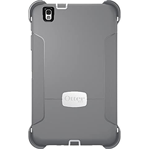 OtterBox Defender Series for Samsung Galaxy Tab Pro (8.4), (White/Gunmetal Grey) (77-40500) (Otter Box Galaxy Tablet 4)