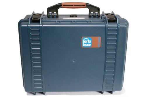 Portabrace PB-2500F Superlite Vault Hard Case with Foam (Blue) by PortaBrace