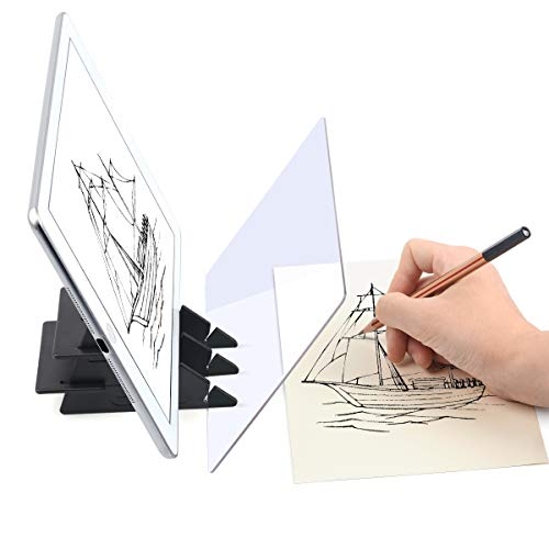(Yuntec Optical Drawing Board, Sketch Wizard, Easy Tracing Drawing, Sketching Tool, Sketch Drawing Board, Optical Picture Book, Painting Artifact Sketching kit for Kids)